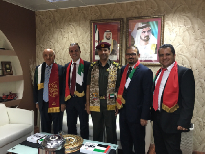 UAE's 44th National Day with the Dubai Civil Defence